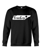 Tennessee Teacher - Map Crewneck Sweatshirt thumbnail