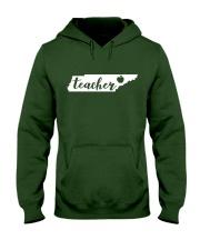 Tennessee Teacher - Map Hooded Sweatshirt thumbnail
