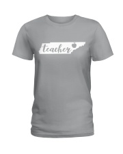 Tennessee Teacher - Map Ladies T-Shirt thumbnail