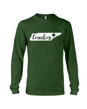 Tennessee Teacher - Map Long Sleeve Tee thumbnail