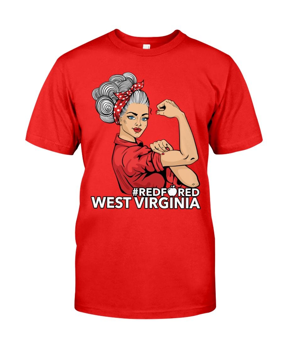 West Virginia Strong Teacher - RedforED Classic T-Shirt