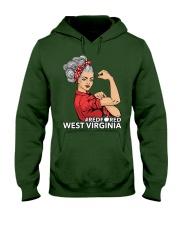 West Virginia Strong Teacher - RedforED Hooded Sweatshirt thumbnail