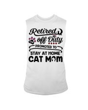 Retired  - Stay at Home Cat Mom Sleeveless Tee thumbnail