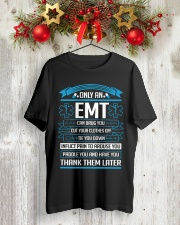 EMT - Thank Them Later Classic T-Shirt lifestyle-holiday-crewneck-front-2