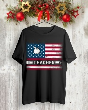 Teacher Flag Classic T-Shirt lifestyle-holiday-crewneck-front-2