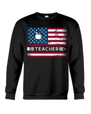 Teacher Flag Crewneck Sweatshirt thumbnail