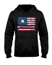 Teacher Flag Hooded Sweatshirt thumbnail