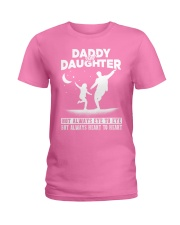 Daddy and Daughter - Dance Ladies T-Shirt thumbnail