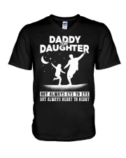 Daddy and Daughter - Dance V-Neck T-Shirt thumbnail