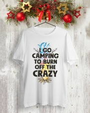 I Go Camping To Burn Off The Crazy Classic T-Shirt lifestyle-holiday-crewneck-front-2