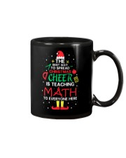 Math Teacher - The best way to spread Christmas Mug thumbnail