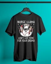 Nurse - Llama Classic T-Shirt lifestyle-mens-crewneck-front-3
