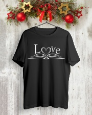 World Book Day - Love Classic T-Shirt lifestyle-holiday-crewneck-front-2
