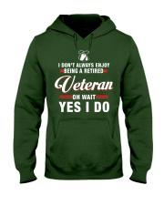 Enjoy being a Retired Veteran Hooded Sweatshirt thumbnail