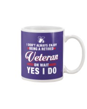 Enjoy being a Retired Veteran Mug thumbnail