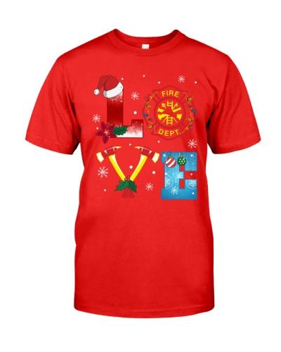 Firefighter - Love - Christmas Gift