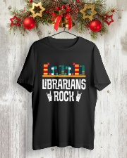 Librarians Rock Classic T-Shirt lifestyle-holiday-crewneck-front-2