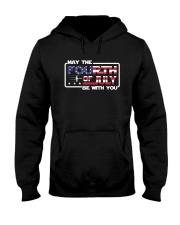 Veteran - Fourth Of July Hooded Sweatshirt thumbnail