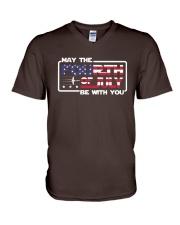 Veteran - Fourth Of July V-Neck T-Shirt thumbnail