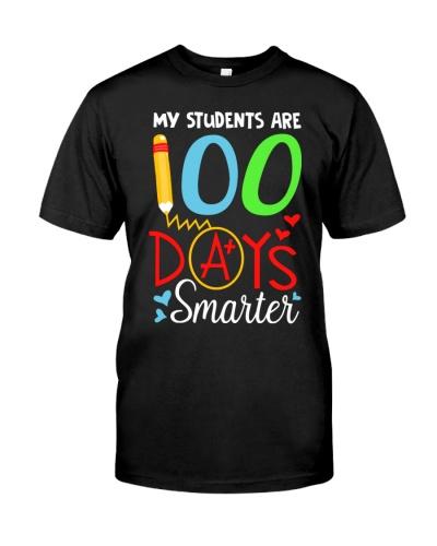 Teacher - My students are 100 days Smarter