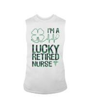 Lucky Retired Nurse Sleeveless Tee thumbnail