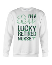 Lucky Retired Nurse Crewneck Sweatshirt thumbnail