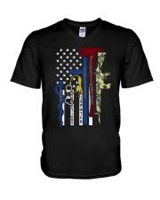 EMS V-Neck T-Shirt thumbnail