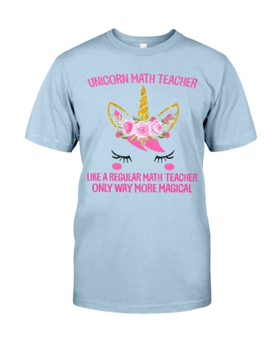 Math Teacher - Unicorn