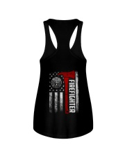 Firefighter Flag Ladies Flowy Tank thumbnail