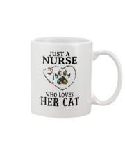 Nurse - Loves her cat Mug thumbnail