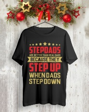 StepDads - Step up Classic T-Shirt lifestyle-holiday-crewneck-front-2