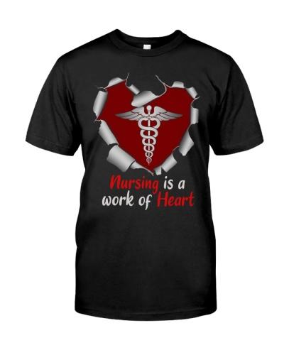Nurse - Nursing Is A Work Of Heart