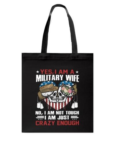 Veteran Wife - I am just Crazy Enough