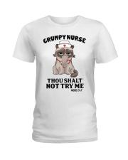 Grumpy Nurse Thou Shalt Ladies T-Shirt thumbnail