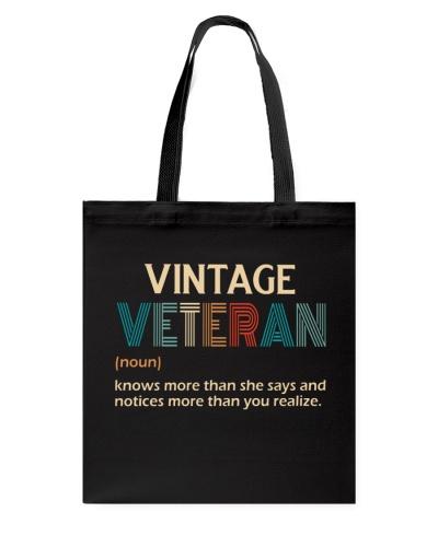 Female Veteran - Vintage