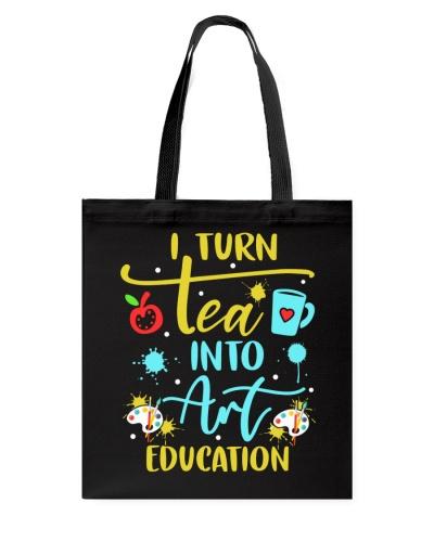 Art Teacher - I turn tea