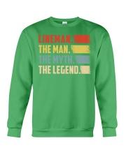 Lineman - The Legend Crewneck Sweatshirt thumbnail