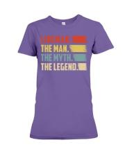 Lineman - The Legend Premium Fit Ladies Tee thumbnail
