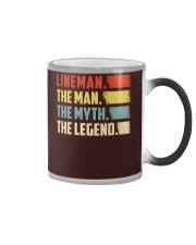 Lineman - The Legend Color Changing Mug thumbnail