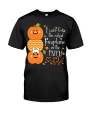 Nurse - Care For Pumpkins Halloween Classic T-Shirt front