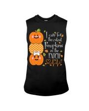 Nurse - Care For Pumpkins Halloween Sleeveless Tee thumbnail