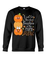 Nurse - Care For Pumpkins Halloween Crewneck Sweatshirt thumbnail
