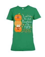 Nurse - Care For Pumpkins Halloween Premium Fit Ladies Tee thumbnail