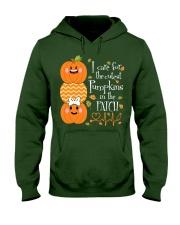 Nurse - Care For Pumpkins Halloween Hooded Sweatshirt thumbnail