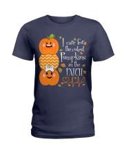 Nurse - Care For Pumpkins Halloween Ladies T-Shirt thumbnail