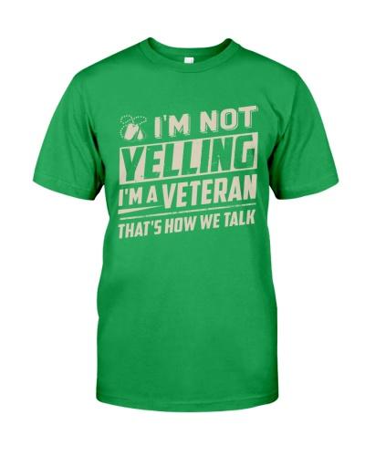 Veteran - Not Yelling