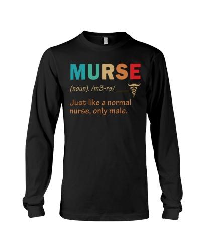 Male Nurse - Definition - Like a normal Nurse