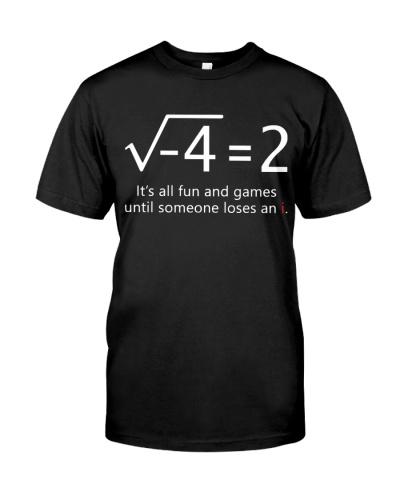 Math Teacher - Loses an i