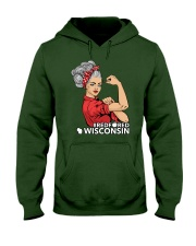 Wisconsin Strong Teacher - RedforED Hooded Sweatshirt thumbnail