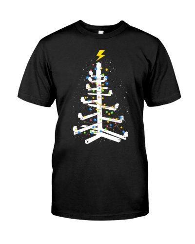 Lineman Christmas Tree